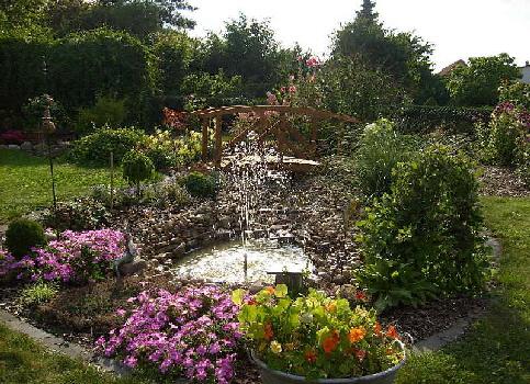 Teich for Gartenteich anlegen pflanzen